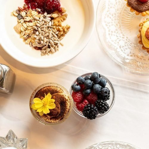 Frühstücken in Schenna
