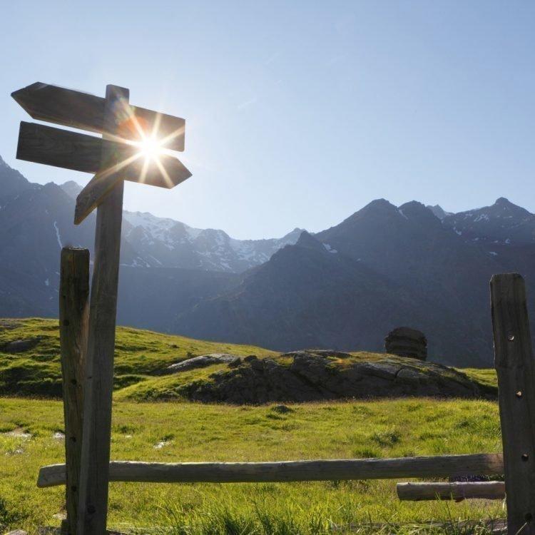 Merano 2000: Alla scoperta dell'alta montagna nell'area escursionistica sopra Scena