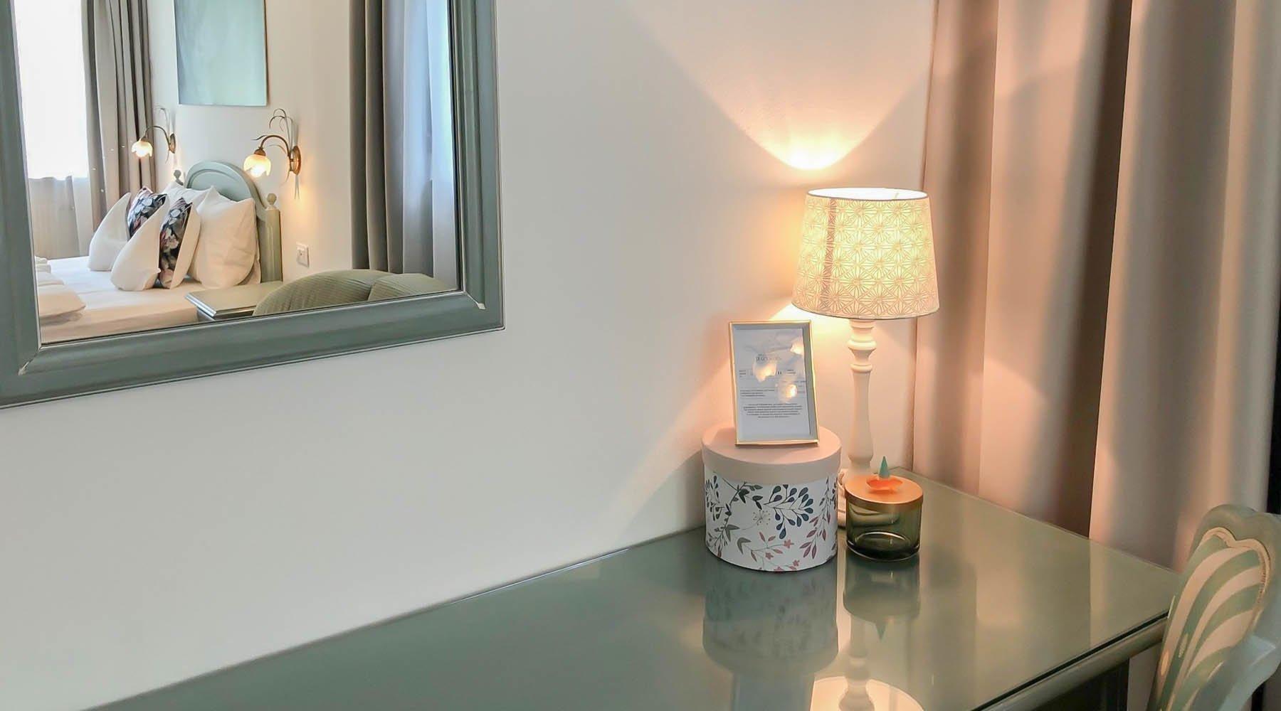 Zimmer Rosenzauber mit Südostbalkon